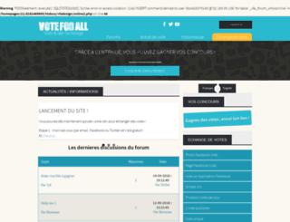 voteforall.com screenshot