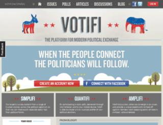 votifi.com screenshot
