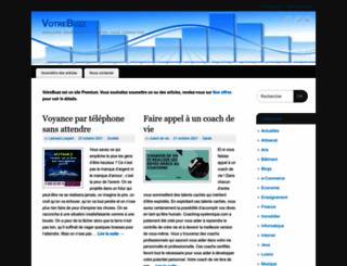 votrebuzz.fr screenshot