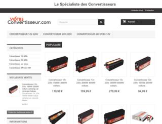 votreconvertisseur.com screenshot