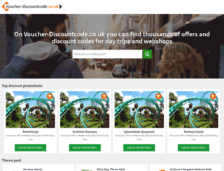 voucher-discountcode.co.uk screenshot