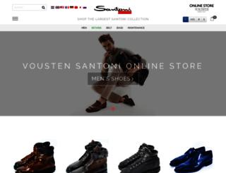 voustenshoes.com screenshot