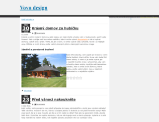 vovodesign.cz screenshot