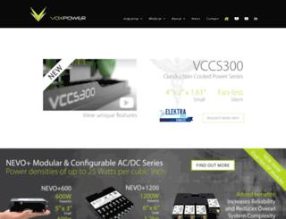 vox-power.com screenshot