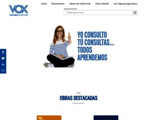 vox.es screenshot