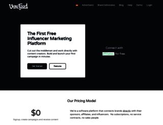 voxfeed.com screenshot