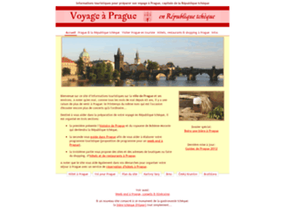 voyage-prague.com screenshot