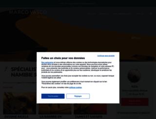 voyage.namibiaveo.com screenshot