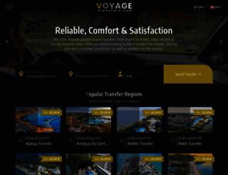 voyagetransfers.com screenshot
