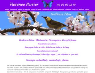 voyance-florence.com screenshot