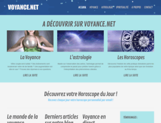 voyance.net screenshot