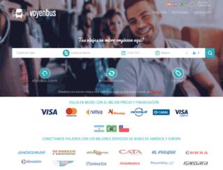 voyenbus.com.ar screenshot