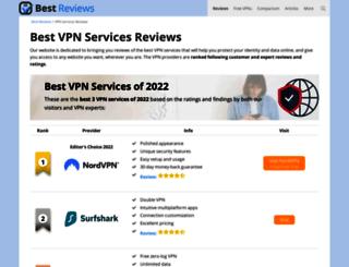 vpn-services.bestreviews.net screenshot