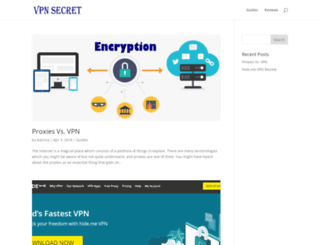 vpnsecret.com screenshot