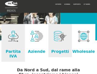 vps.mclink.it screenshot