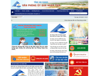 vpubnd.angiang.gov.vn screenshot