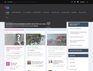 vragenplein.nl screenshot