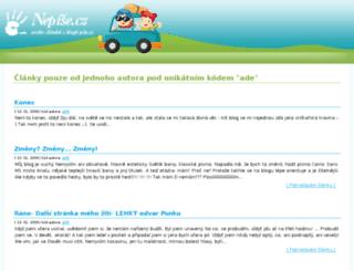 vrane.pise.cz screenshot