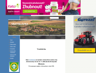 vratislavka.estranky.cz screenshot