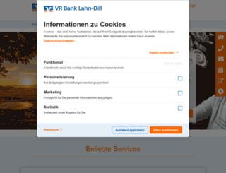 vrbank-biedglad.de screenshot