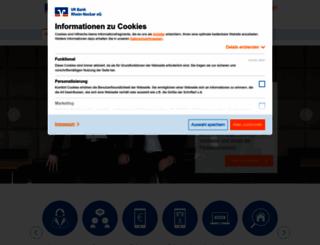 vrbank.de screenshot