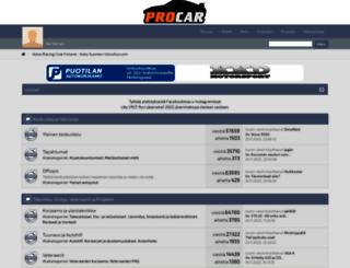 vrcf.fi screenshot