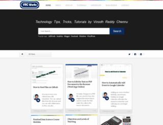 vrcworks.net screenshot