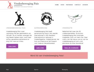 vredesbeweging.nl screenshot