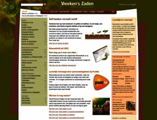 vreeken.nl screenshot