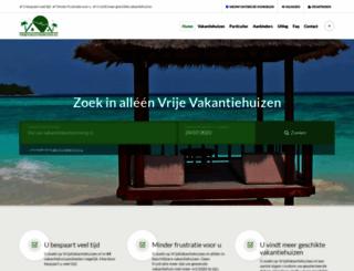 vrijevakantiehuizen.nl screenshot