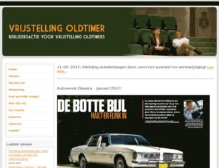 vrijstellingoldtimer.nl screenshot