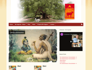 vrindavan.com screenshot