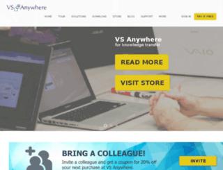 vsanywhere.com screenshot