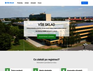 vsbsklad.cz screenshot