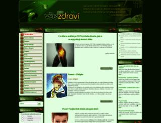 vseprozdravi.cz screenshot