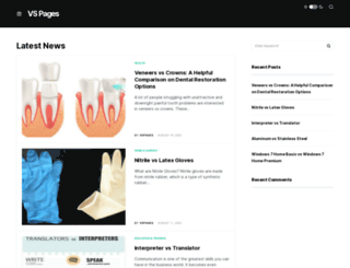 vspages.com screenshot