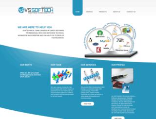 vssoftech.com screenshot