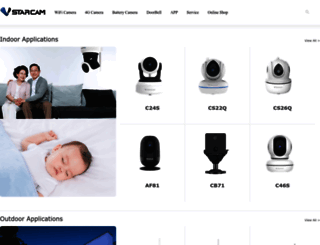 vstarcam.com screenshot