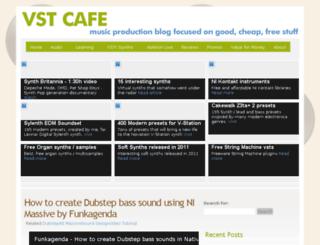 vstcafe.com screenshot