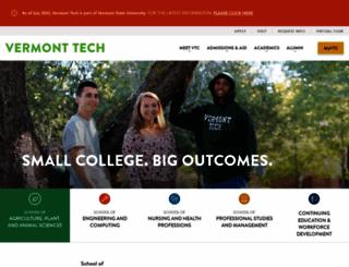 vtc.edu screenshot