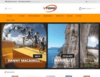 vtopo.fr screenshot