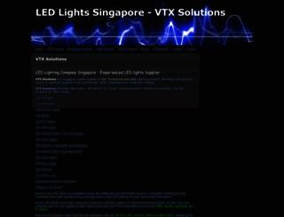 vtxsolutions.webs.com screenshot