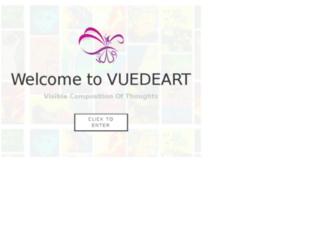 vuedeart.com screenshot