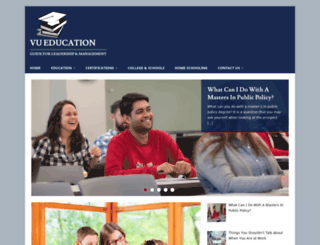 vueducation.com screenshot