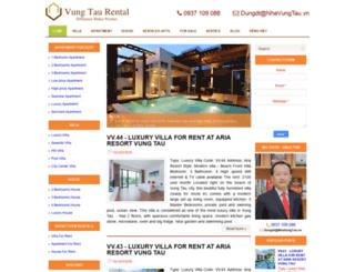 vungtaurental.com screenshot