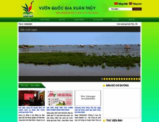 vuonquocgiaxuanthuy.org.vn screenshot