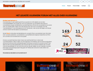 vuurwerkcrew.nl screenshot
