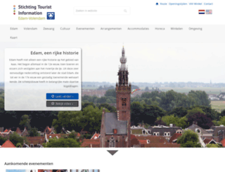 vvv-volendam.nl screenshot