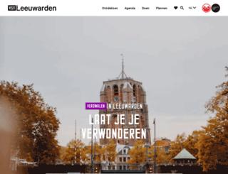vvvleeuwarden.nl screenshot