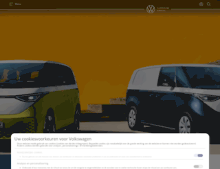 vw-commercial-vehicles.be screenshot